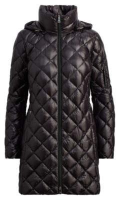 Ralph Lauren Packable Quilted Down Jacket Black L