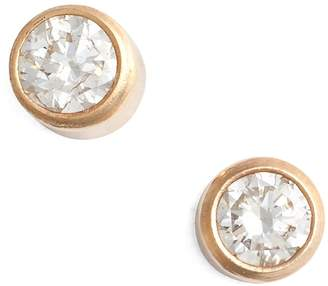 Chicco Zoe Diamond Bezel Stud Earrings