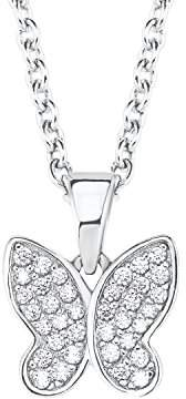 S'Oliver Girls Silver Pendant Necklace - 2020866