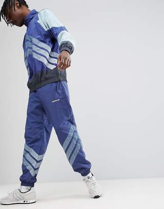 adidas Nova Joggers In Tapered Fit In Blue Ce4814