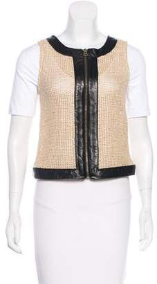 Kelly Wearstler Silk Woven Vest