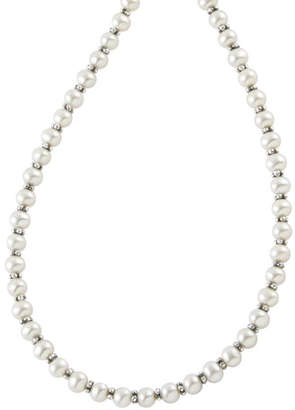 """Lagos Pearl Necklace, 18""""L"""