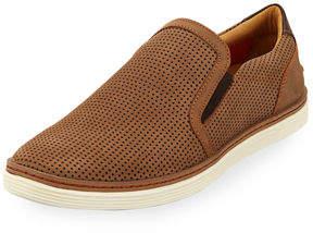 Donald J Pliner Men's Travis Perforated Nubuck Slip-On Sneakers