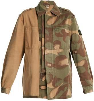 MYAR 1980s Hungarian Military camouflage combat jacket