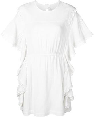 IRO Serenity lace mini dress