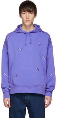 Levi's Feng Chen Wang Blue Levis Edition Embroidered Hoodie