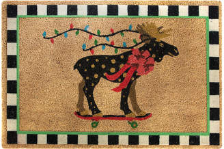 Mackenzie Childs MacKenzie-Childs - Moose On Parade Doormat