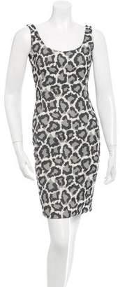 Diane von Furstenberg Front-Patterned Sheath Dress
