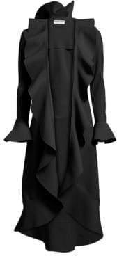 Chiara Boni Shiva Ruffle Coat