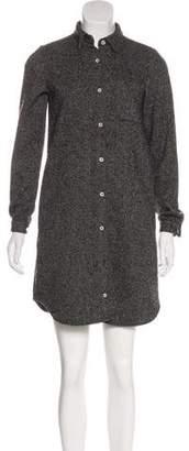 Steven Alan Wool-Blend Mini Dress