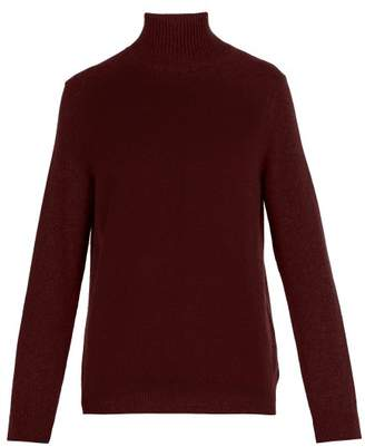 Paul Smith Roll Neck Wool Sweater - Mens - Burgundy