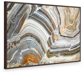 Marmont Hill Visual Conception Of Creation Floater Framed Painting Print on Canvas