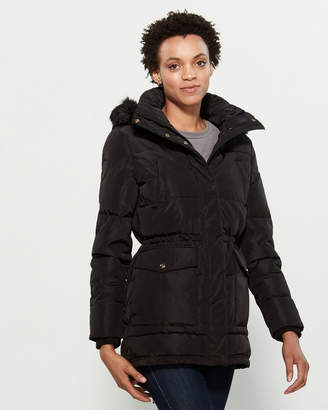 Lauren Ralph Lauren Faux Fur-Trimmed Hooded Anorak