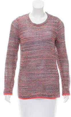 Joie Open Knit Long Sleeve Sweater
