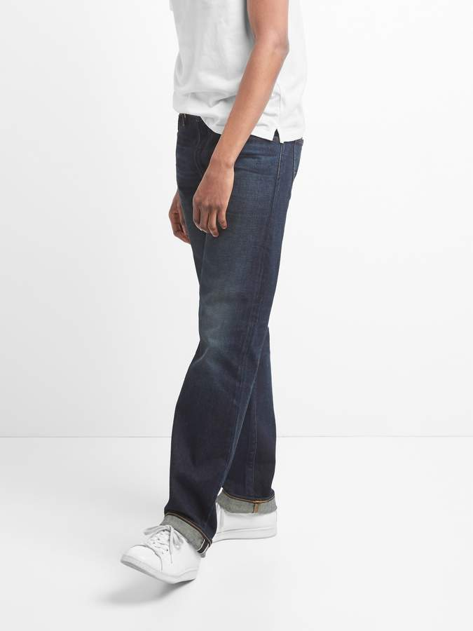Gap Cone Denim Selvedge Jeans in Straight Fit with GapFlex