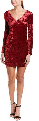 Do & Be DO+BE Do+Be Velvet Sheath Dress