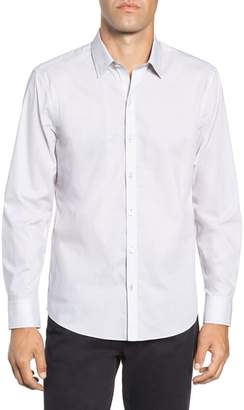 Zachary Prell Toledo Regular Fit Microdot Sport Shirt