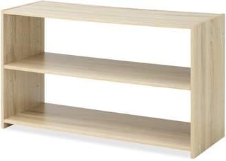 Whitmor 6424-8008-Gray-BB Wood Stackable 3-Tier Shoe Rack