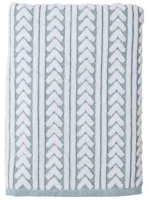 "Nordstrom Rack Chevron Stripe Bath Towel - 54\"" x 28\"""