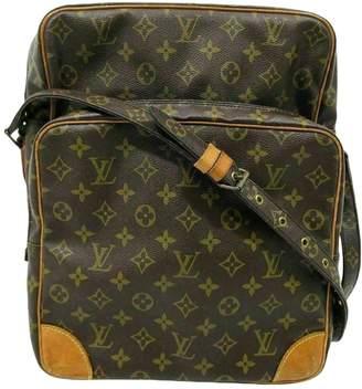 Louis Vuitton Amazon Brown Cloth Handbags