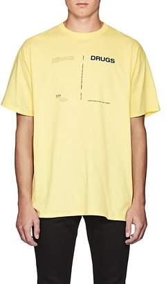 Raf Simons Men's Play-Print Cotton Jersey T-Shirt