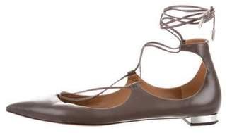 Aquazzura Christy Ballet Flats