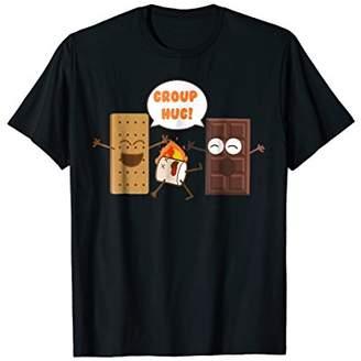 Group Hug Funny Smores Chocolate Marshmallow Camping T-Shirt