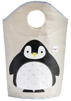 3 Sprouts Penguin Laundry Bag