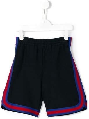 Gucci Kids Web trim shorts