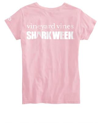 Vineyard Vines Womens Shark Week Logo Tee