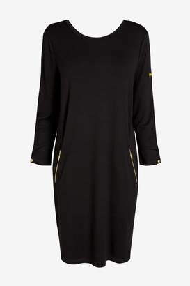Barbour Womens International Black Oversized Dress - Black