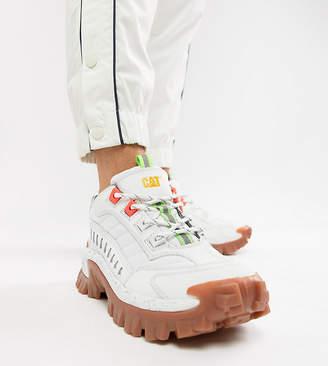 CAT Footwear CAT Intruder chunky sole sneakers in white