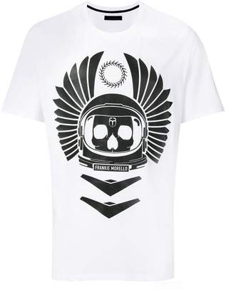 Frankie Morello skull graphic T-shirt