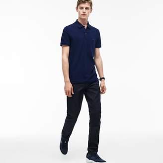 Lacoste Men's Slim Fit Five-Pocket Stretch Cotton Denim Jeans