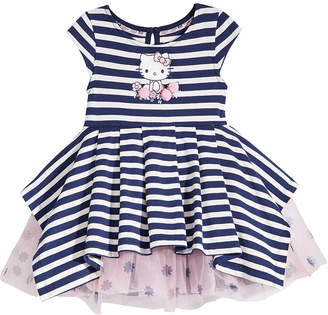 Hello Kitty Striped Dress, Baby Girls