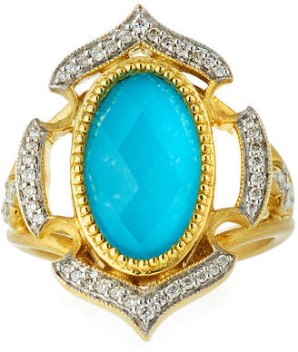 Jude Frances 18k Moroccan Doublet Ring, Size 6.5