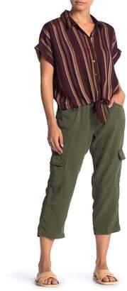Sanctuary Tencel Cargo Ankle Pants (Petite)