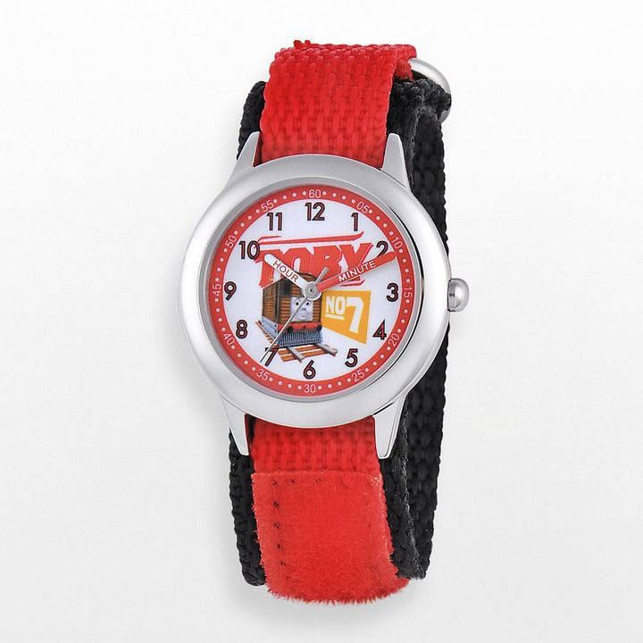 Thomas & Friends toby stainless steel time teacher watch - w000723 - kids