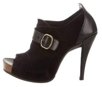 Pedro Garcia Suede Ankle Booties
