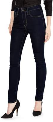 Levi's 721 High Rise Skinny Jeans in Cast Shadows