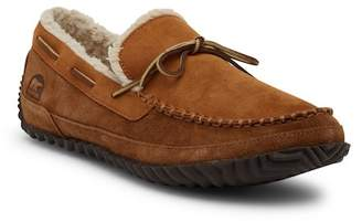 Sorel Maddox Fleece Lined Suede Moccasin