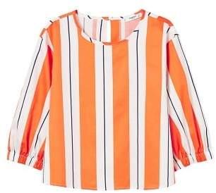 MANGO Keyhole detail blouse