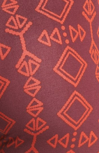 Threads for Thought Geometric Print Leggings (Juniors)