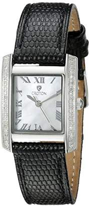Croton Women's CN207057BSMP Ballroom Analog Display Quartz Black Watch
