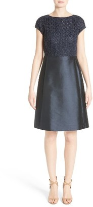 Women's Lafayette 148 New York Hillany Fit & Flare Dress $598 thestylecure.com