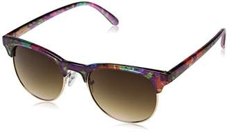 UNIONBAY Union Bay Women's U282 FLGD Round Sunglasses