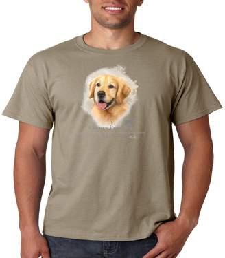 Golden Retriever Juiceclouds T Shirt Dog Owner Mens Tee S-5XL (, XL)