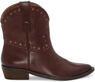Lucky Brand Chantelx Leather Booties
