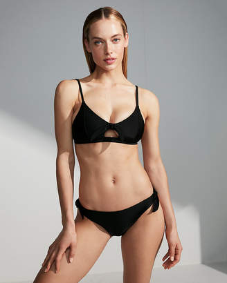 Express Low Rise Side Tie Bikini Bottoms