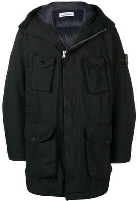 Stone Island multi-pocket coat